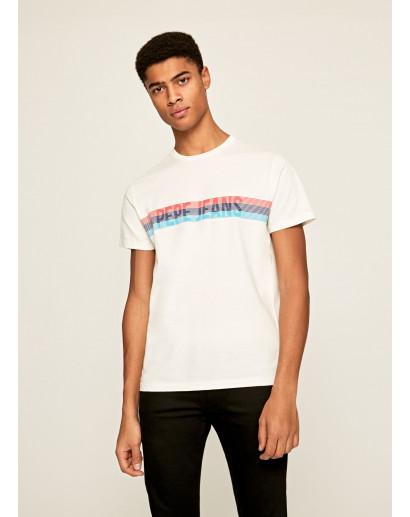Koszulka Pepe Jeans Marke 803 off white