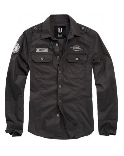 Koszula BRANDIT Luis Vintageshirt black