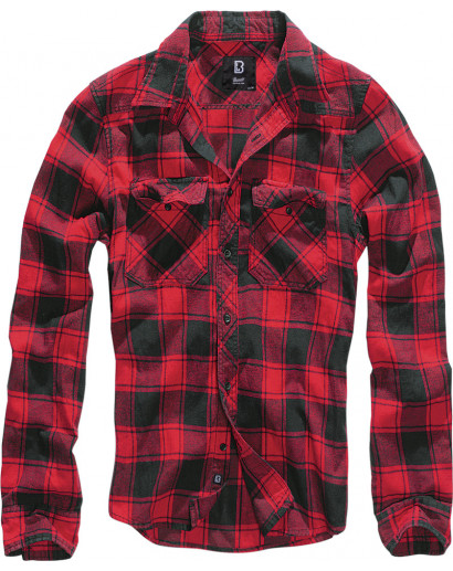 Koszula Brandit Checkshirt red/black