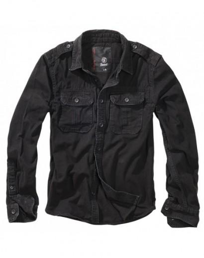 Koszula BRANDIT VINTAGE SHIRT 9373/2 black
